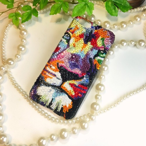 カラフルライオンデコ iPhone6カバー