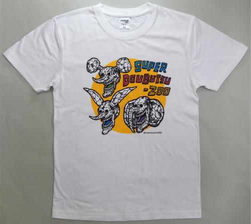 【きくちゆうき】『SUPERどうぶつーズ』Tシャツ