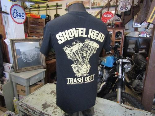 Shovel head エンジン S/S Tee