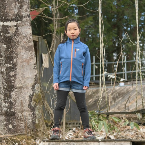 Kids 130 / UN3000 Mid weight fleece Jacket / Navy