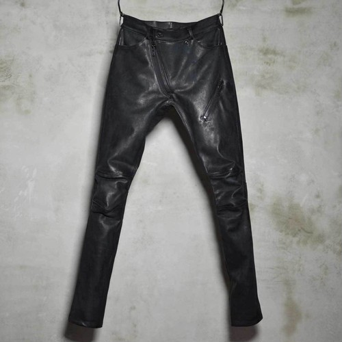 Leather Bonding Jeans