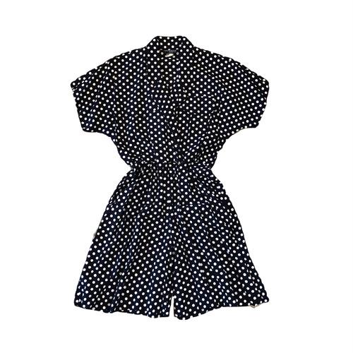 Cinaron Dress Dot Rompers ¥8,400+tax
