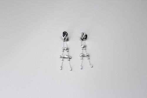 """泡沫の耳飾り (silver925)【2020""""SKIN FORM""""】"""