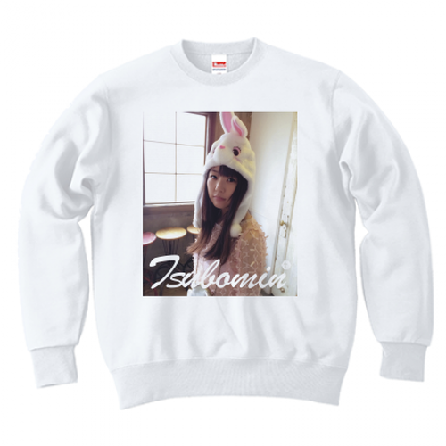 TSUBOMIN / FEBRUARY PHOTO CREWNECK SWEAT WHITE