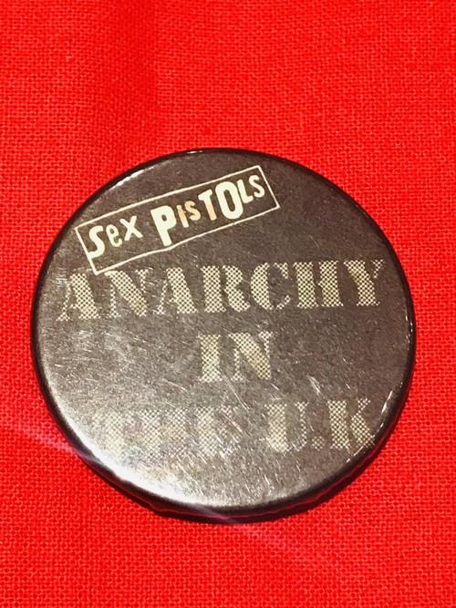 70's Sex pistols / Vintage Badge