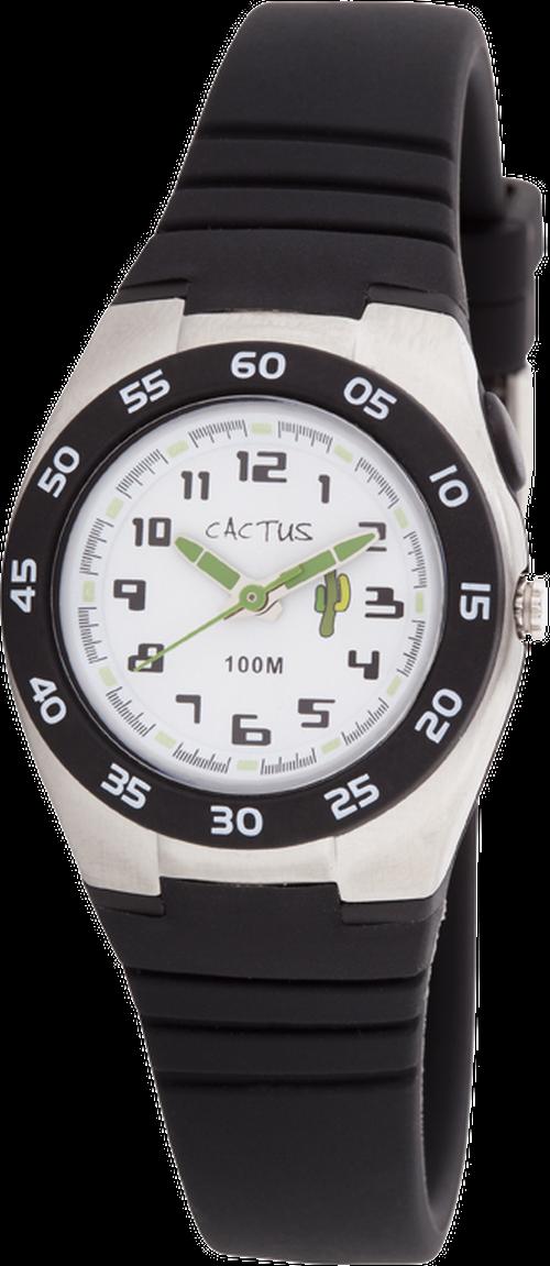 [キッズ腕時計]ブラック ライト 10気圧防水 CAC-75-M01