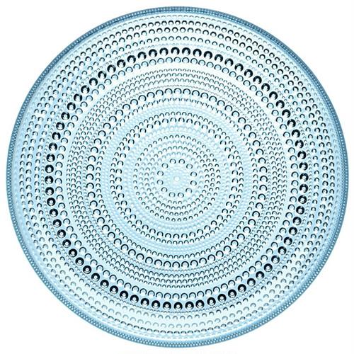 Kastehelmi プレート24.8cm ライトブルー