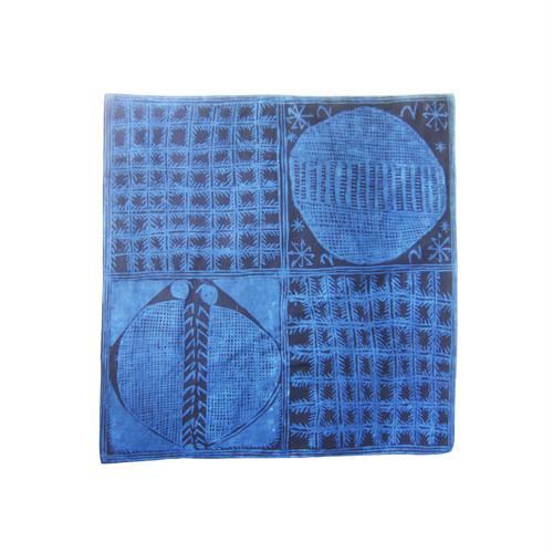 アディレ•エレコの風呂敷 91 / Adire Eleko Furoshiki 91