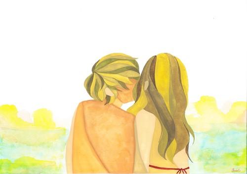 """YUMI YAMADA ART PRIN """"LOVE YOU"""" B5"""