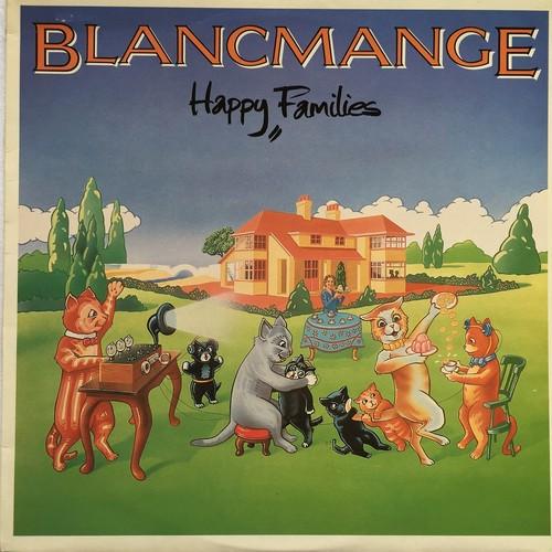 【LP・英盤】Blancmange / Happy Families