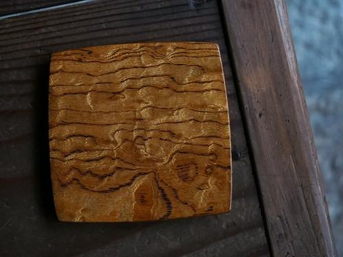 木工 高室久志 4寸平皿