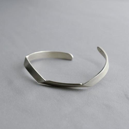 FOLDING METAL / slim bangle