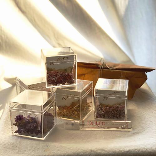完売しました!【母の日スペシャル限定‼︎】Fragrance & Aroma Flower Box (メッセージカード付き)