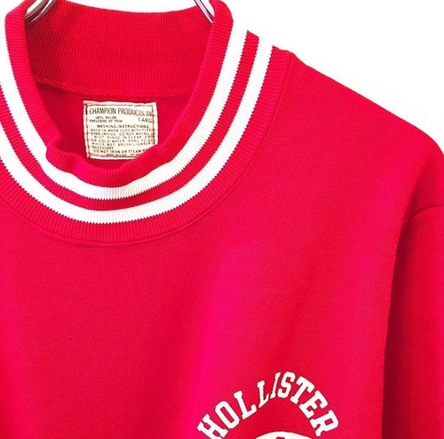 CHAMPION PRODUCTS : nylon sweat shirt (used)
