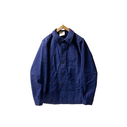 """60's """"FRENCH  ARMY"""" COTTON TWILL WORK JKT"""