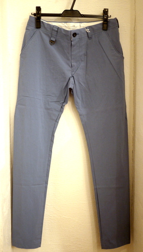 Stretch Tapered Shirts Pants Blue
