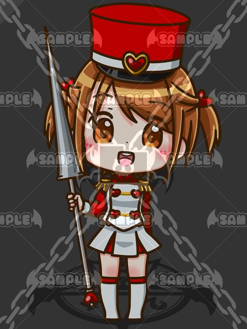 不思議の国のトランプ兵_ハートちゃん_XL