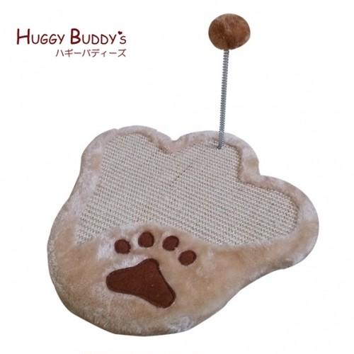 hb80213-2 爪とぎキャットマット35cm おもちゃ付き 【※ゆうパケット不可※】