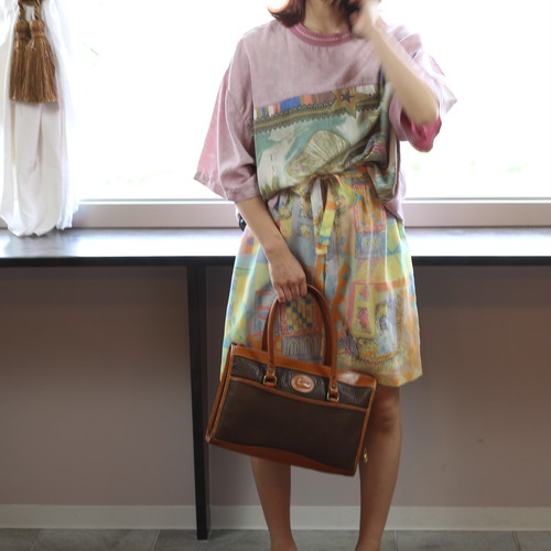 RETRO CULOTTES PNTS MADE IN JAPAN/レトロ古着キュロットパンツ