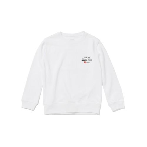 "TOYOTA ""HIACE"" Kids Summer Sweat Shirt - White"