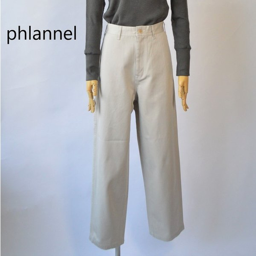 Phlannel/フランネル・cool cotton painter pants
