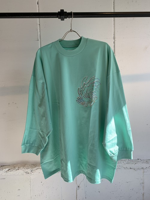 PONTI DREAM WEAPON LONG TEE (GREEN)