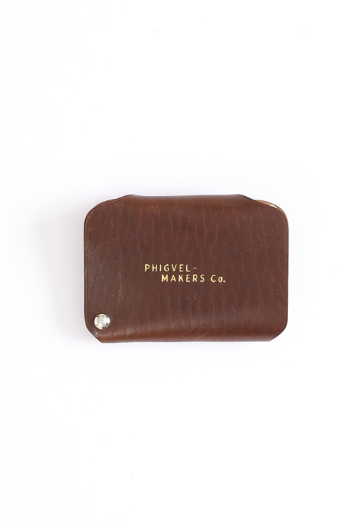 Card case / PHIGVEL / Brown