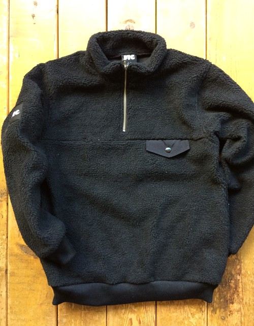 [ FTC ] SHERPA FLEECE HALF ZIP PULLOVER