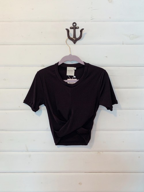 SABRINA CROP TOP NERO