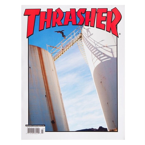 THRASHER - March 2019. Issue 464