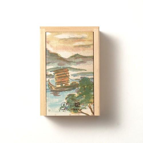 台湾茶 木製ボックス ニュージャージー(碧螺春/へきらしゅん)