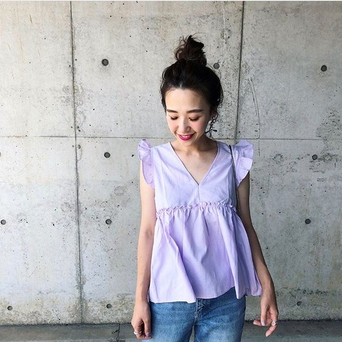 frill Candy blouse