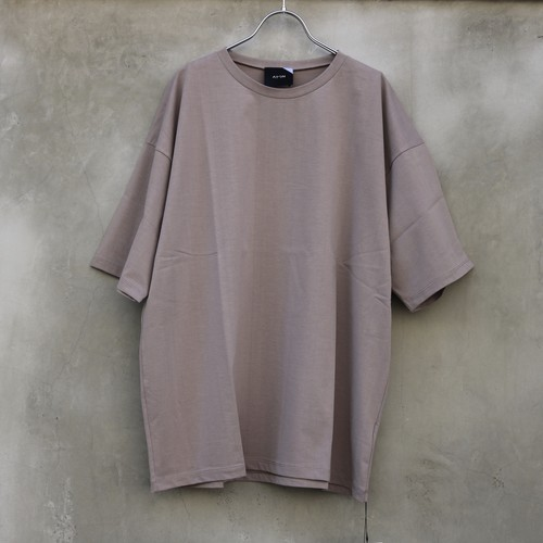 ATON nuback cotton oversized t-shirt