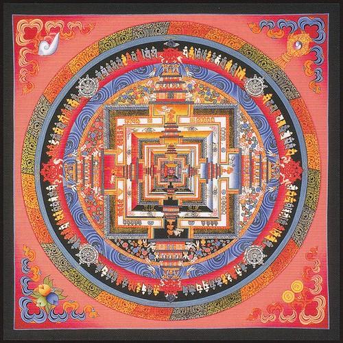 チベット曼陀羅ジクレー版画B