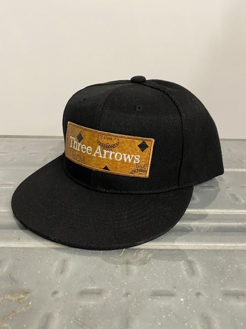 【Expensive】ThreeArrows BOX LOGO CAP (MCM)