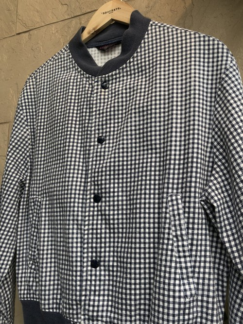 1960s American CAMPUS brand cotton check jacket