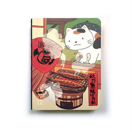 多目的手帳 筆記本 山猫風物詩・料理