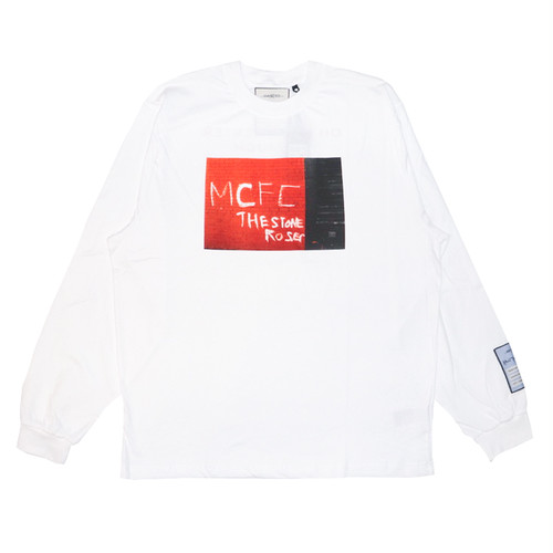 WASTED PARIS × Kevin Cummins L/S T-Shirts WHITE