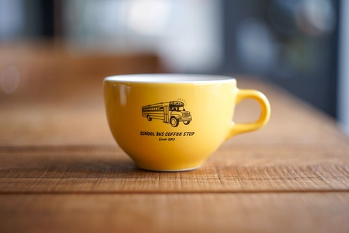 Kyoto 6oz latte cup -Yellow-