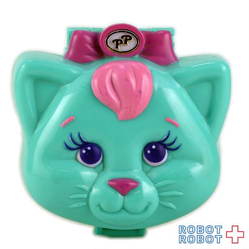 ポーリーポケット こねこのぬくぬくベット 猫の顔のコンパクト