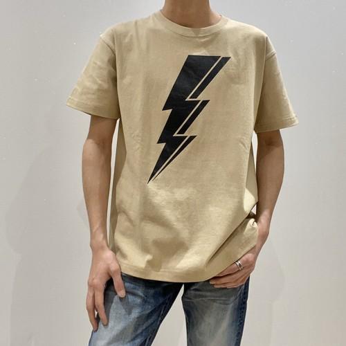 HOSU 稲妻 半袖Tシャツ