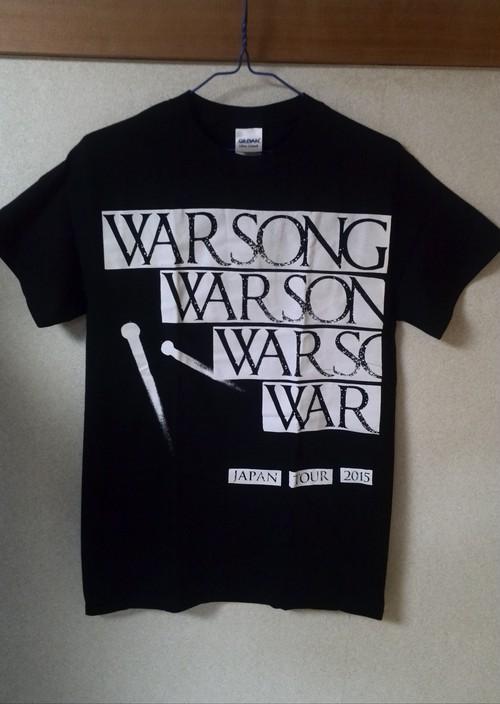 WARSONG JAPAN TOUR 2015記念Tシャツ(黒色)