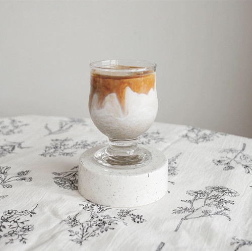 french glass goblet / フレンチ グラス ゴブレット コップ ボウル おうちカフェ 韓国 北欧 雑貨
