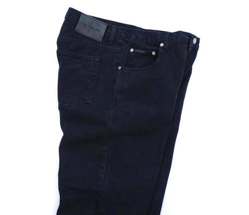 "1990's [Calvin Klein Jeans] ""EASY FIT JEAN"" ブラック 表記(W33) カルバンクラインジーンズ"