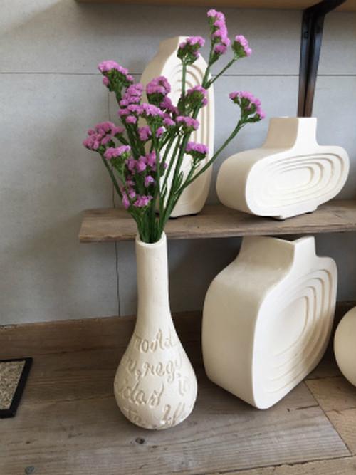 カリグラフィー柄花瓶