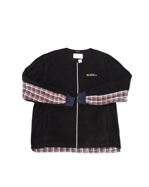 remake docking fleece tops