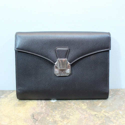 2000000026800 dunhill LEATHER CLUTCH BAG MADE IN ITALY/ダンヒルレザークラッチバッグ