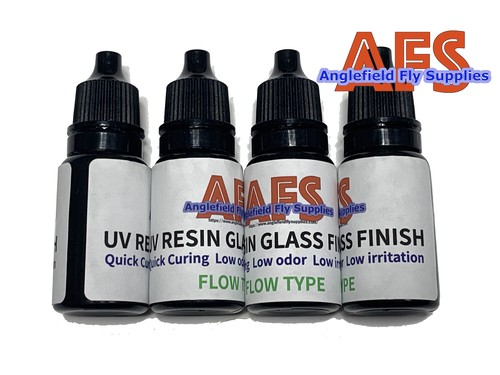 "【 AFS 】 UV RESIN "" GLASS FINISH """