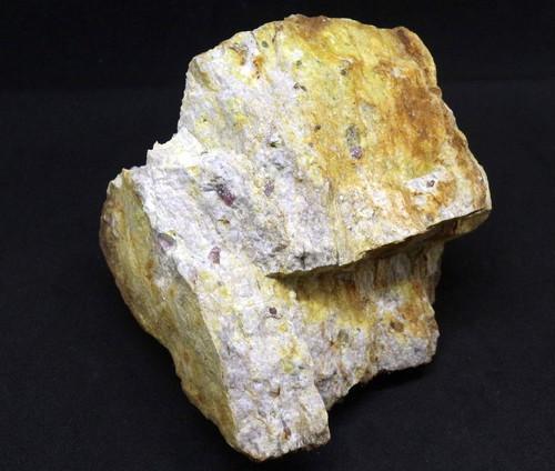 カリフォルア産 コランダム ルビー サファイア 原石 自主採掘品 454g RB001