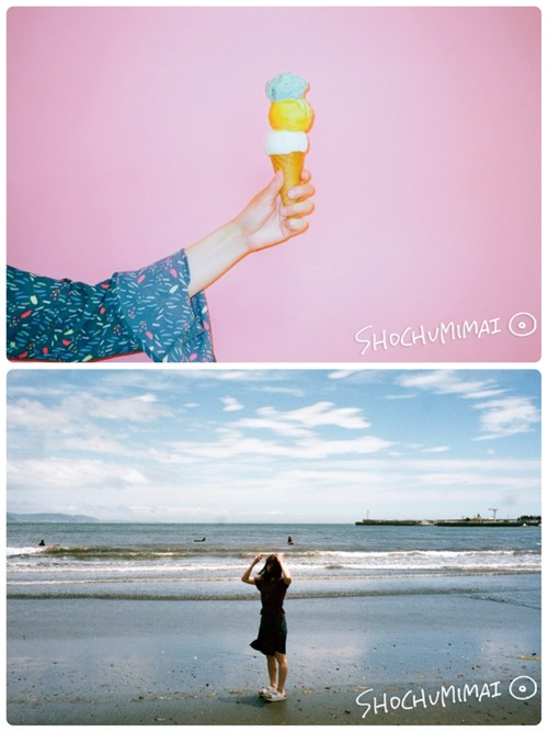split single『暑中見舞いCD』